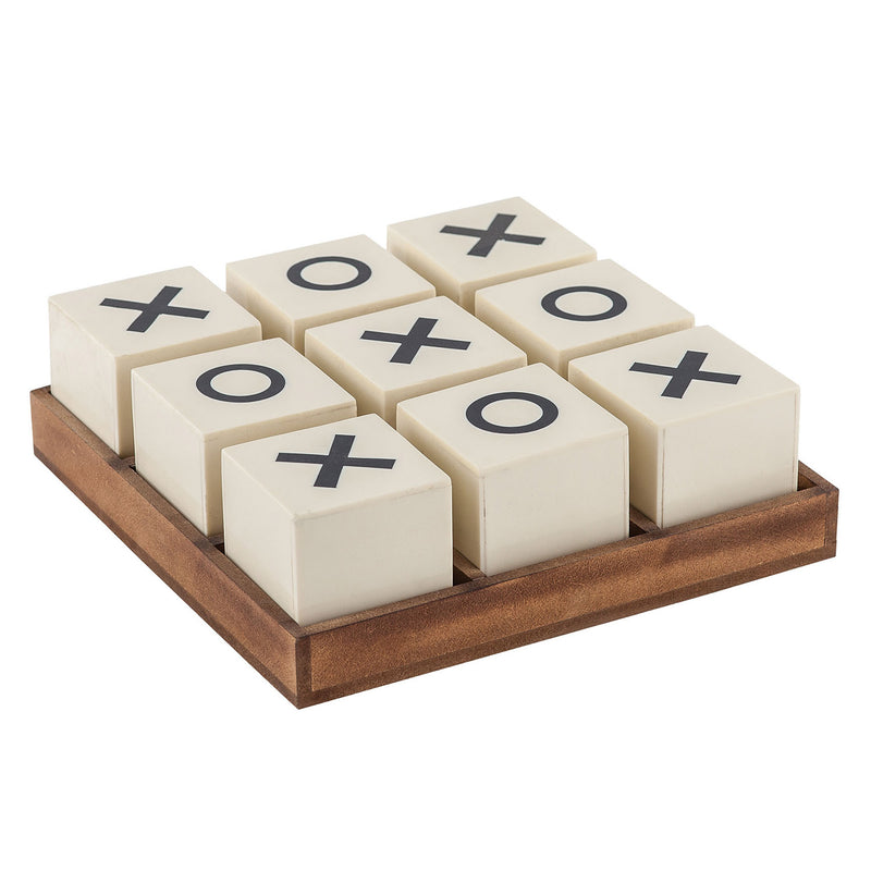 Deluxe Tic Tac Toe Decorative Game