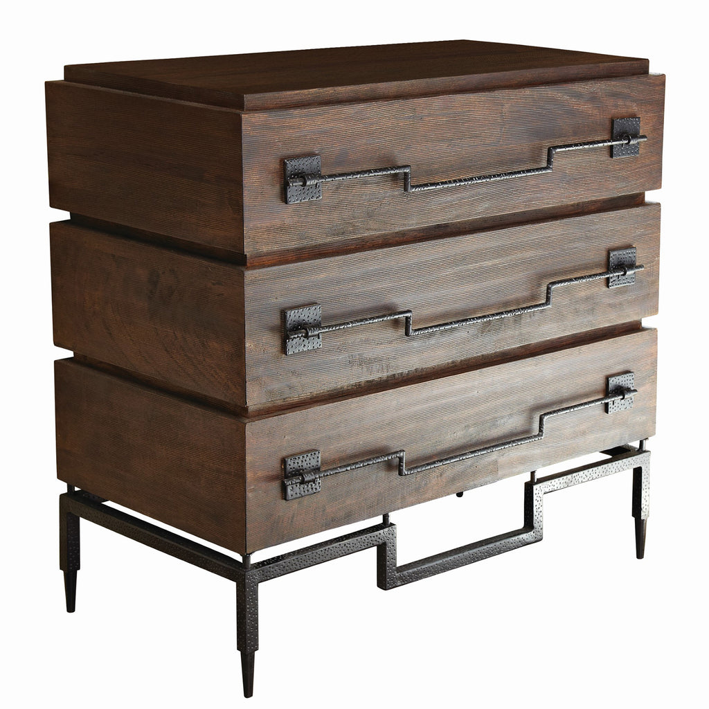 Global Views Scratch 3 Drawer Chest