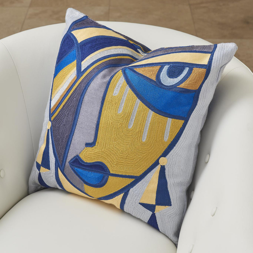 Global Views Maya Throw Pillow