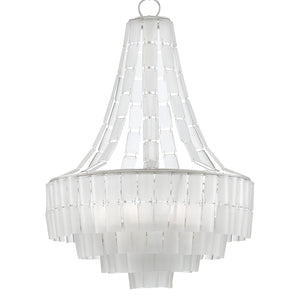 Currey & Co Vintner Blanc Chandelier