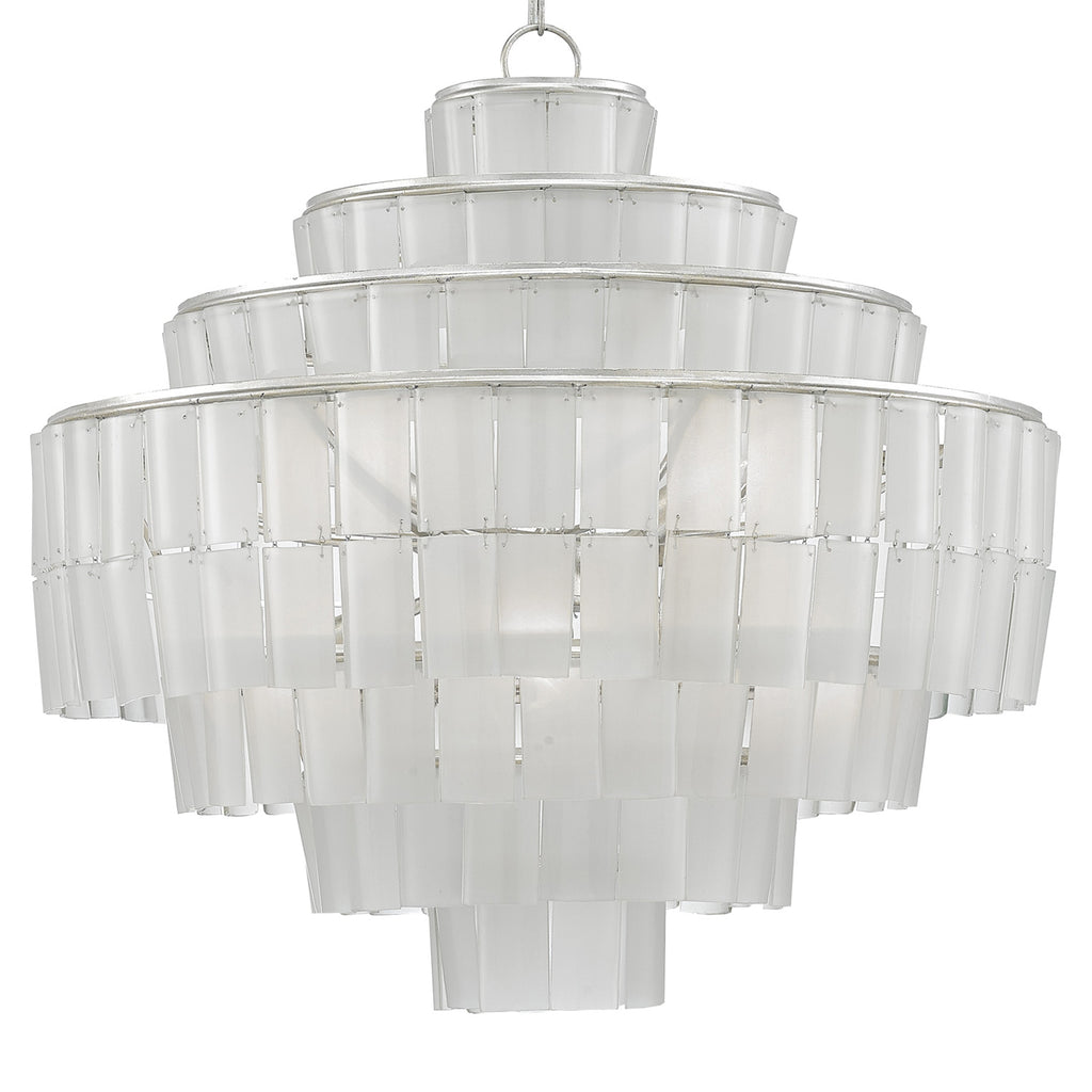 Currey & Co Sommelier Blanc Chandelier