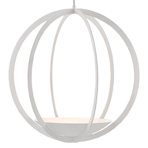 Currey & Co Moondance Orb Chandelier