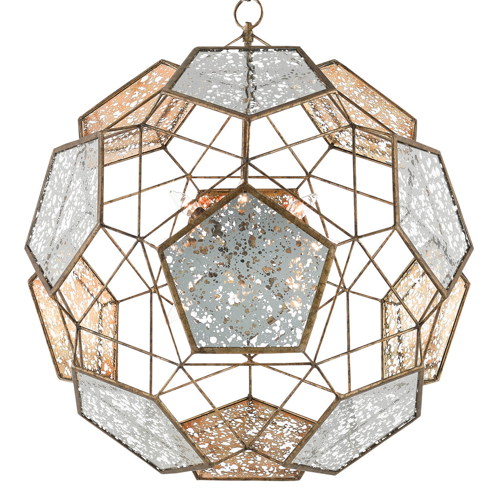 Currey & Co Julius Orb Chandelier