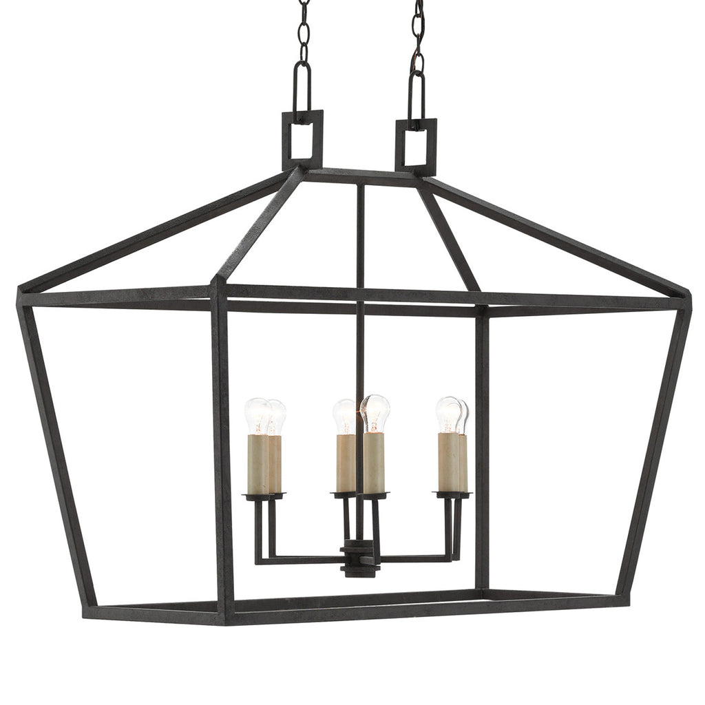 Currey & Co Denison Rectangular Lantern