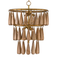 Currey & Co Savoiardi Chandelier