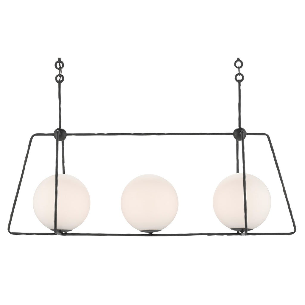 Currey & Co Stansell Rectangular Chandelier