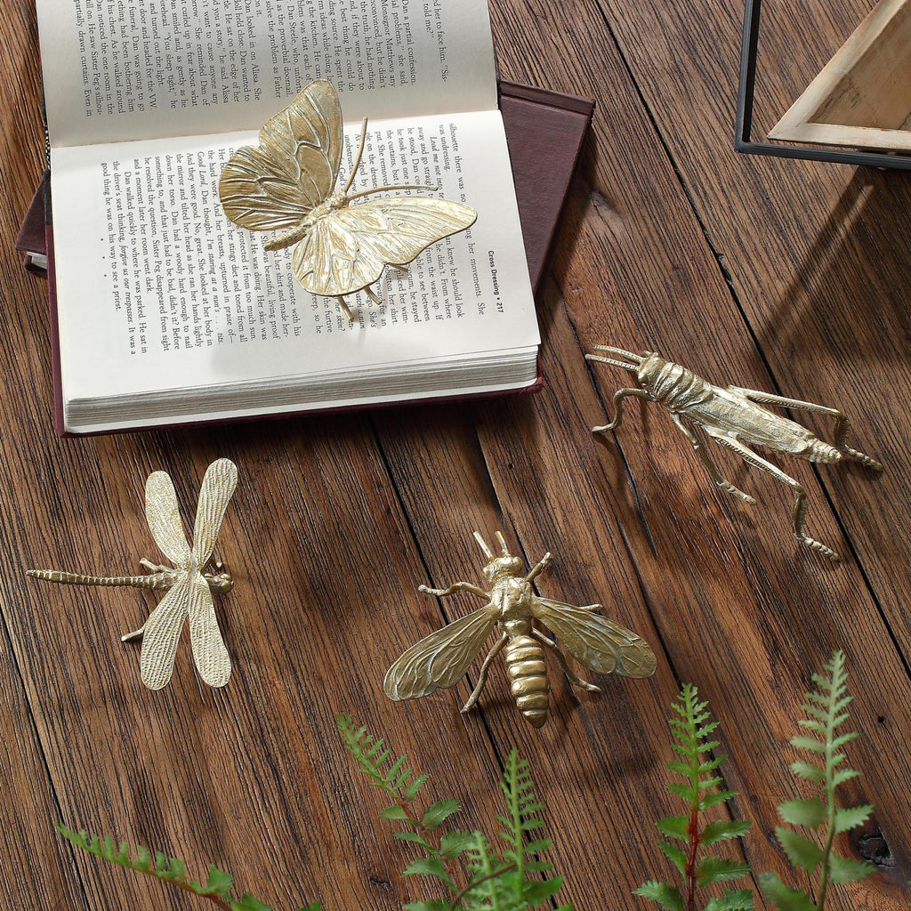 Insect Decorative Accent Set of 4