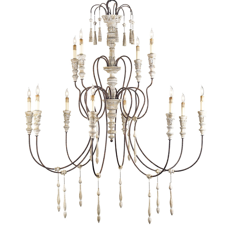 Currey & Co Hannah Large Chandelier