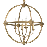Currey & Co Bellario Orb Chandelier