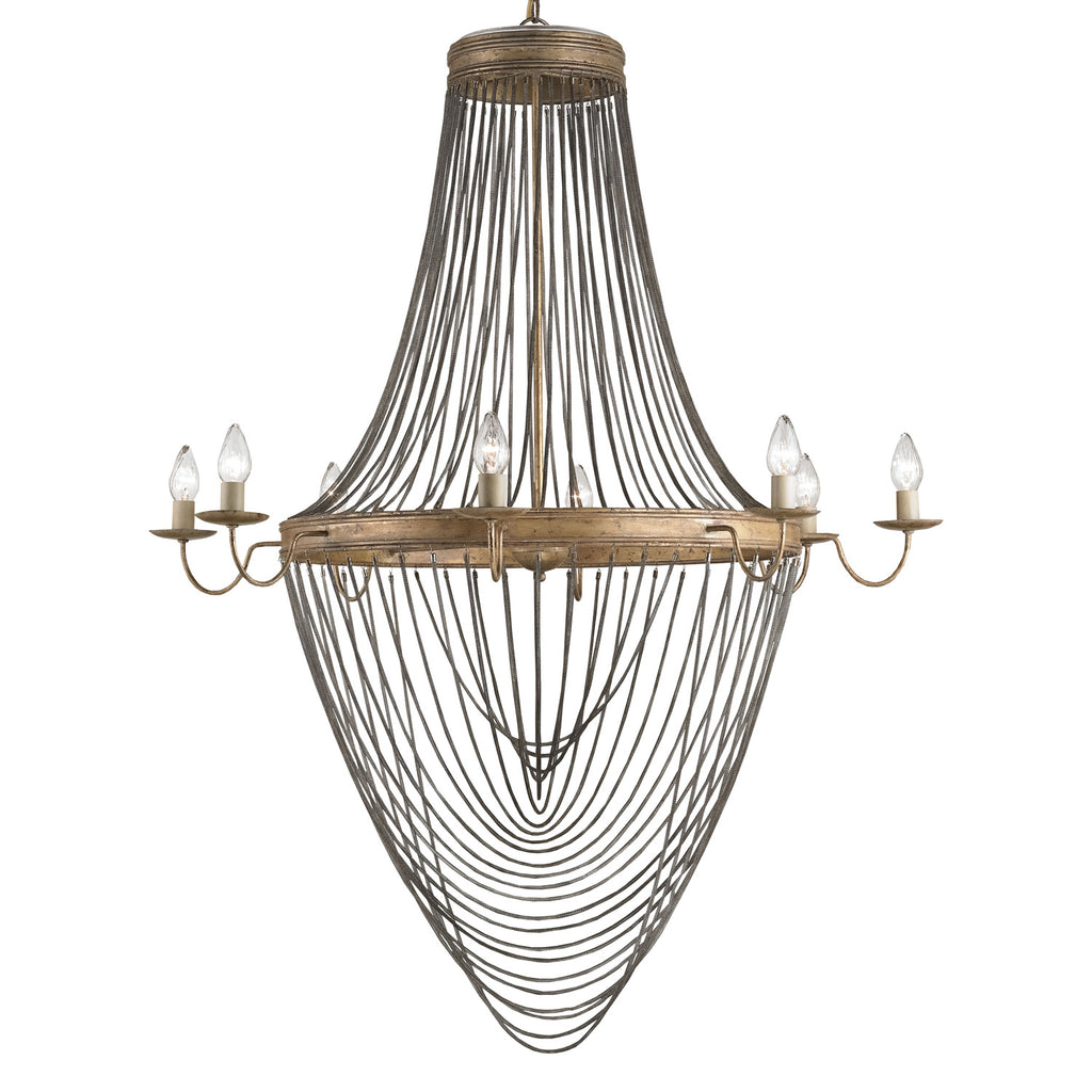 Currey & Co Lucien Chandelier