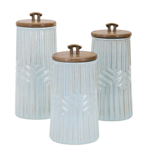 Loni Canister Set of 3