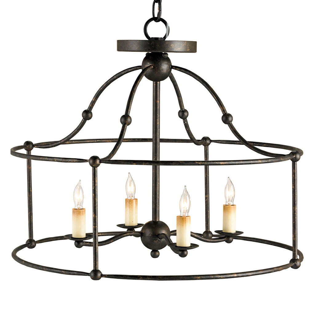 Currey & Co Fitzjames Pendant/Semi-Flush
