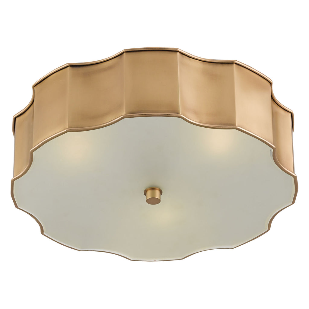 Currey & Co Wexford Flush Mount