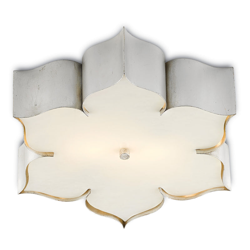 Currey & Co Grand Lotus Flush Mount
