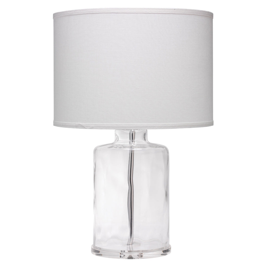 Jamie Young Napa Clear Table Lamp