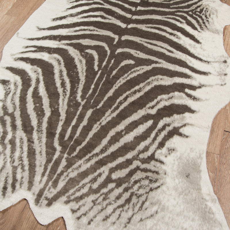 Safari Zebra Machine Made Rug