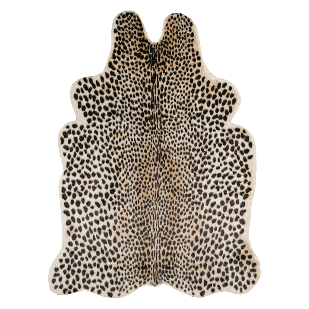 Safari Cheetah Machine Made Rug