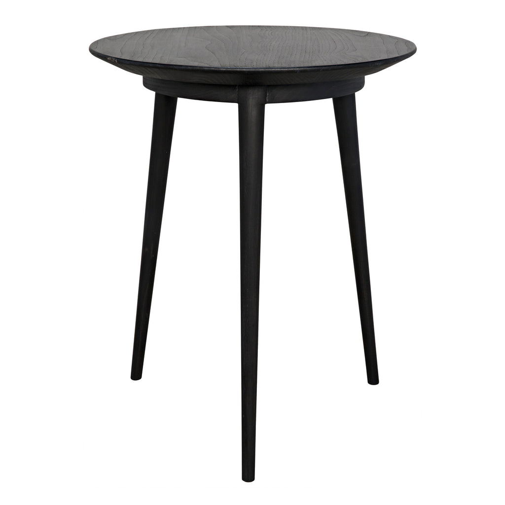 Noir Tripod Side Table
