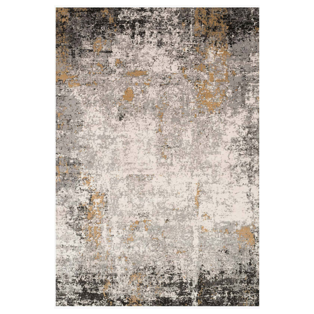 Loloi II Alchemy Granite/Gold Power Loomed Rug