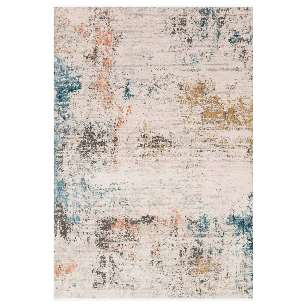 Loloi II Alchemy Ivory/Multi Power Loomed Rug