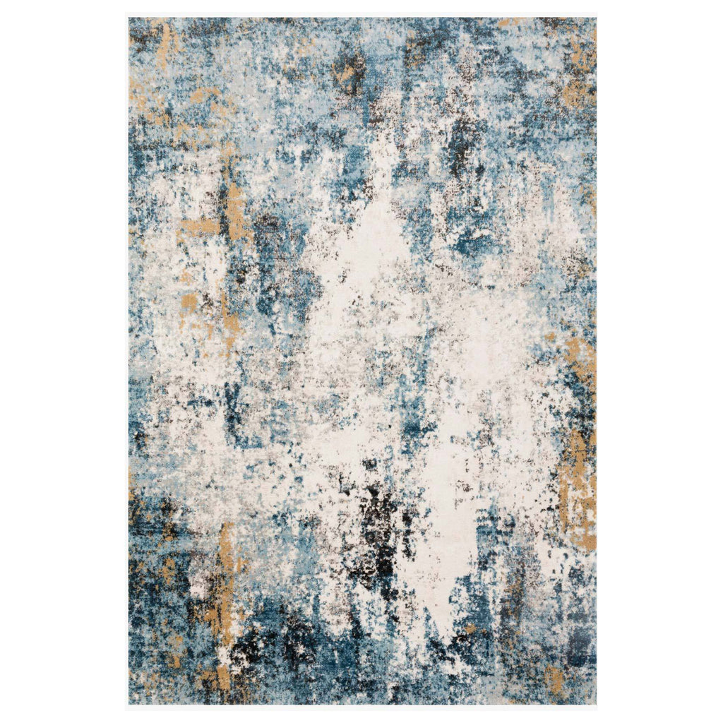 Loloi II Alchemy Denim/Ivory Power Loomed Rug