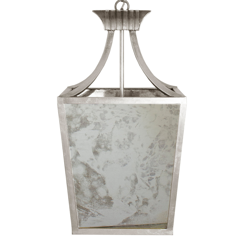 Worlds Away Alister Antique Mirror Lantern