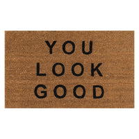 Good Lookin' Door Mat
