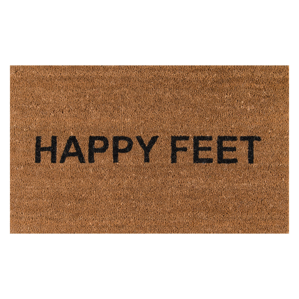 Happy Feet Door Mat