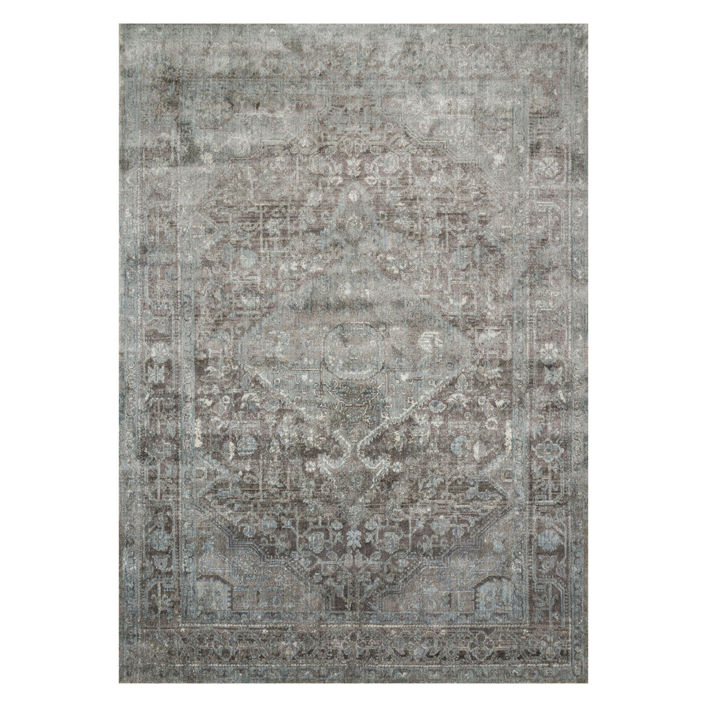Loloi Anastasia Stone/Blue Power Loomed Rug