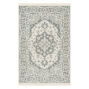 Auburn Medallion Hand Tufted Rug