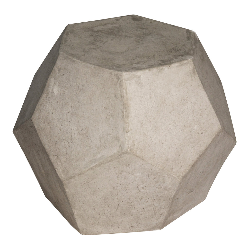 Noir Geometry Side Table/Stool