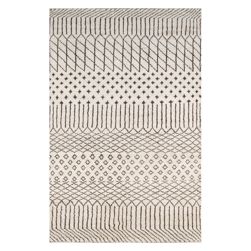 Ethel Tribe Natural Hand Knotted Rug