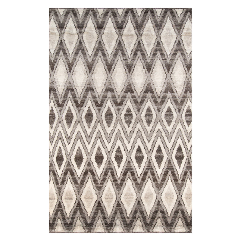 Ethel Diamond Hand Knotted Rug