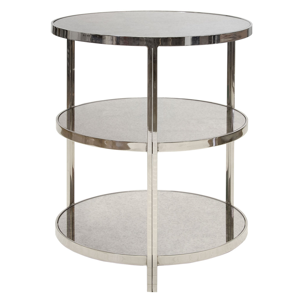 Worlds Away Audrey Side Table