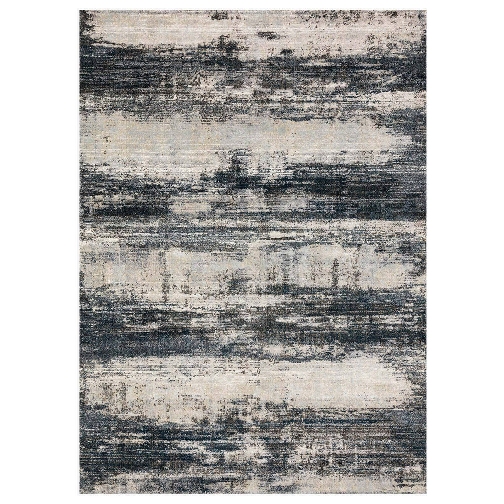 Loloi Augustus Navy/Stone Power Loomed Rug
