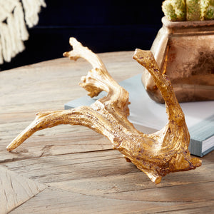 Cyan Design Drifting Gold I Sculpture