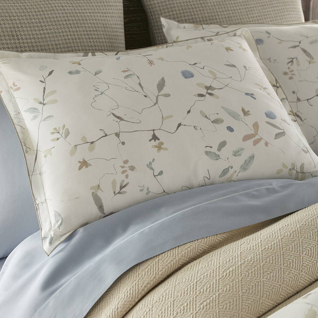 Peacock Alley Avery Percale Pillow Sham