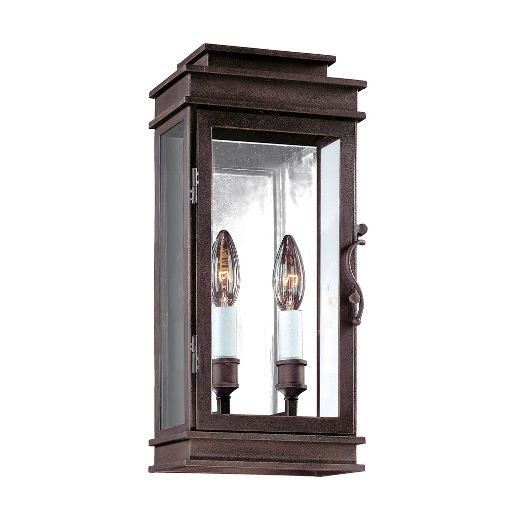 Troy Vintage Lantern Outdoor Wall Sconce