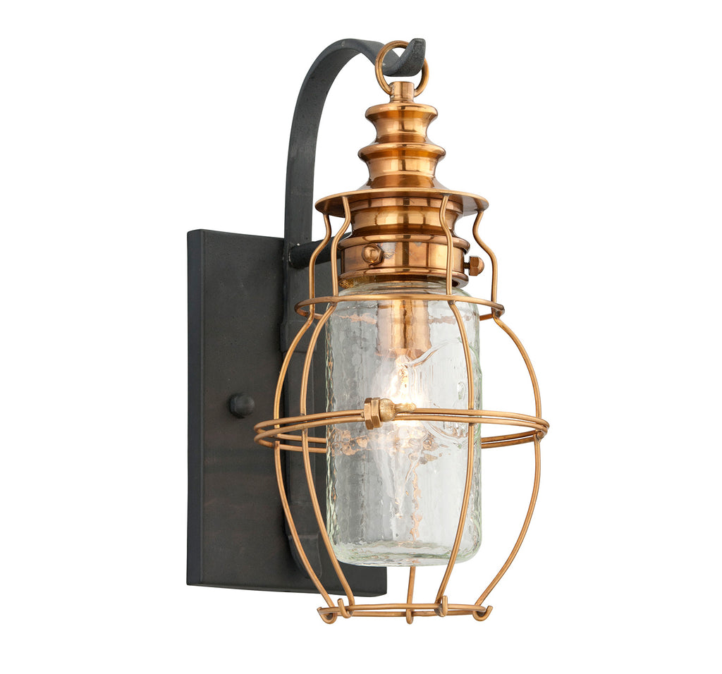 Troy Little Harbor 1-Light Wall Lantern