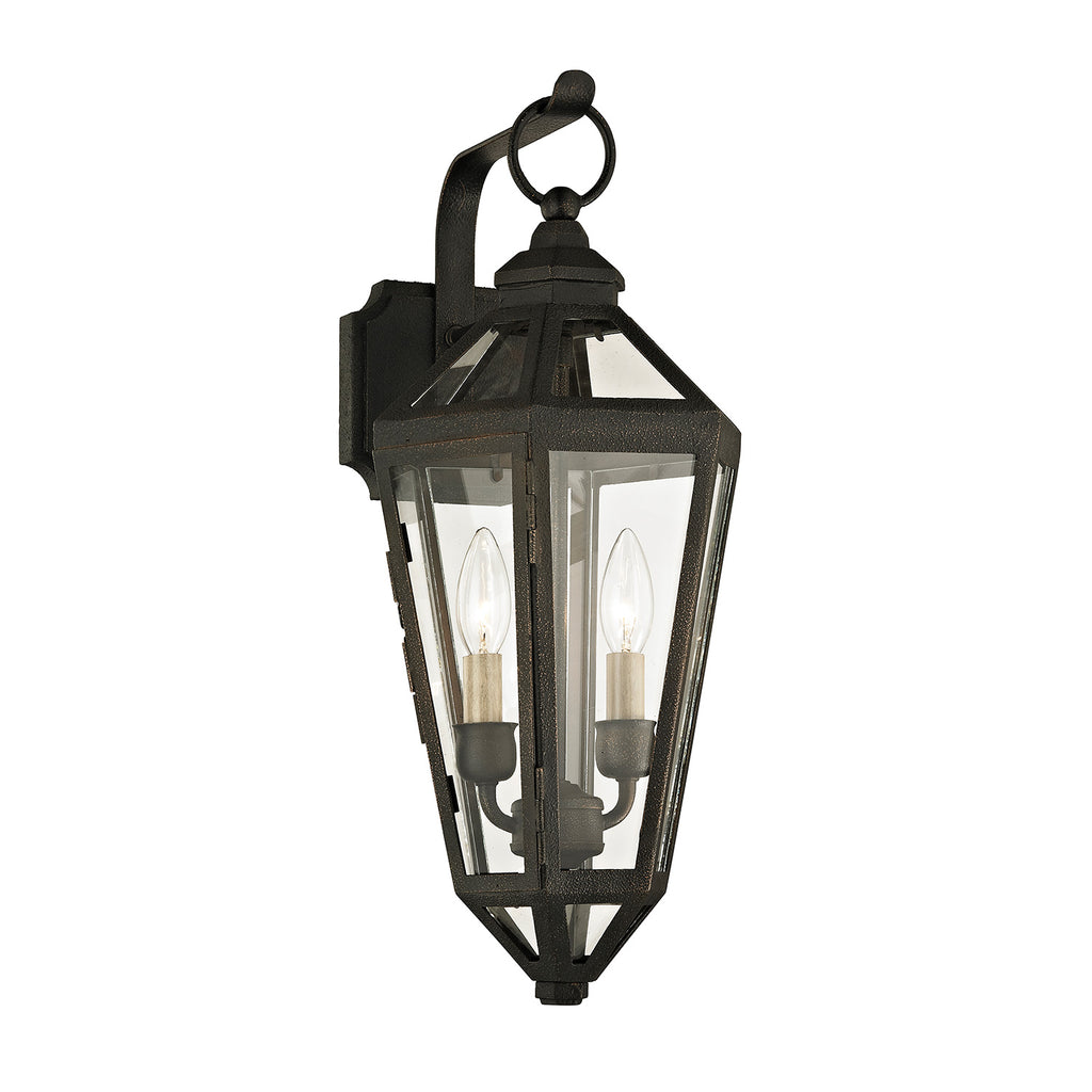 Troy Calabasas Hanging Lantern Outdoor Wall Sconce