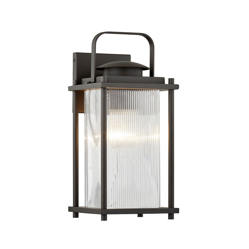 Troy James Bay Hanging Lantern Outdoor Wall Sconce