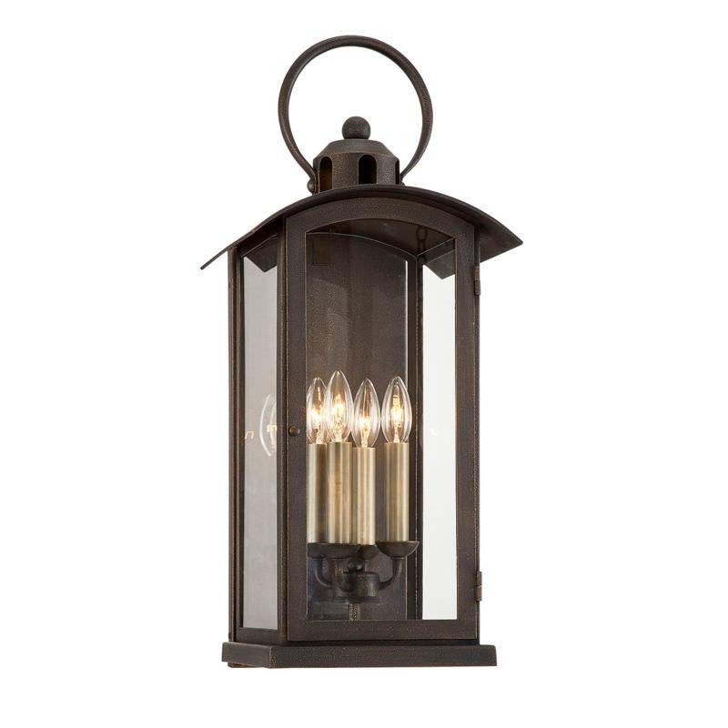 Troy Chaplin Lantern Outdoor Wall Sconce