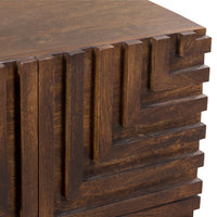 Union Home Maze Wood Night Stand