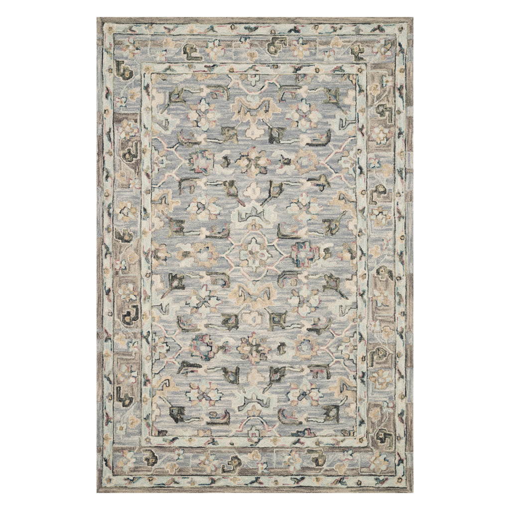 Loloi II Beatty Light Blue Hooked Rug