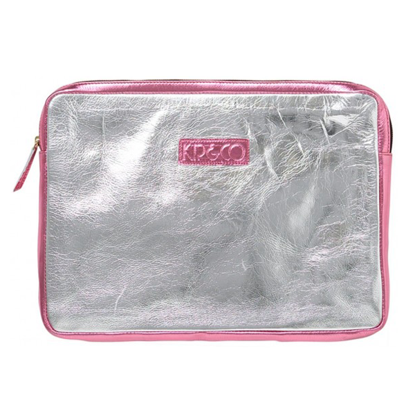 Kip & Co Bling Foil Leather Laptop Case