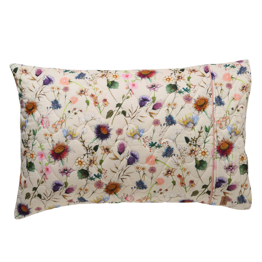 Kip & Co Bouquet Cream Pillowcase Set of 2