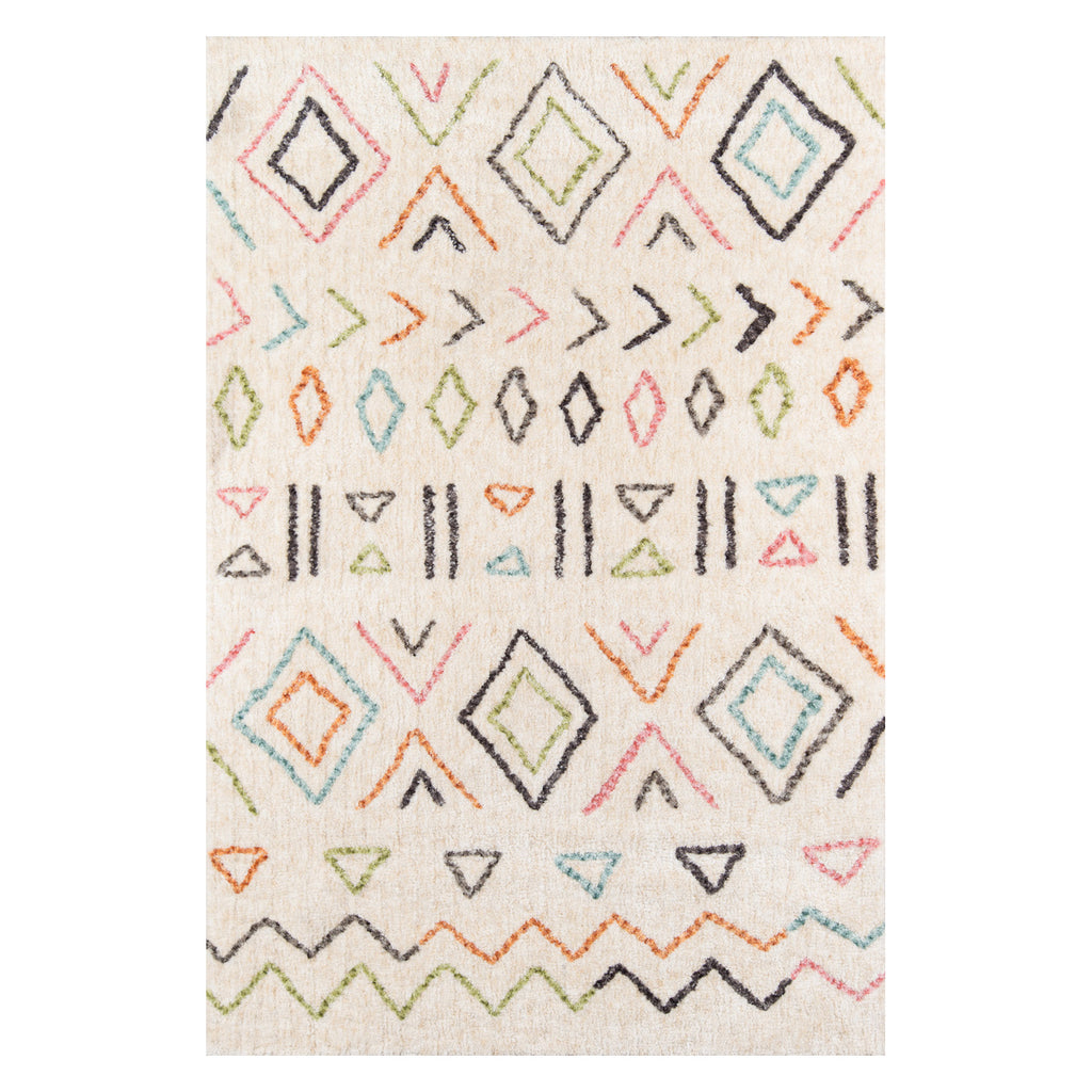 Arabella Tribe Table Tufted Rug