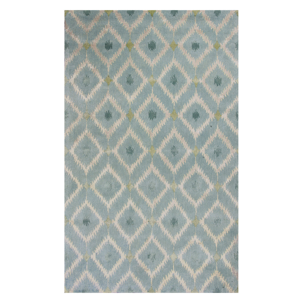 Mirage Ice Blue Hand Tufted Rug