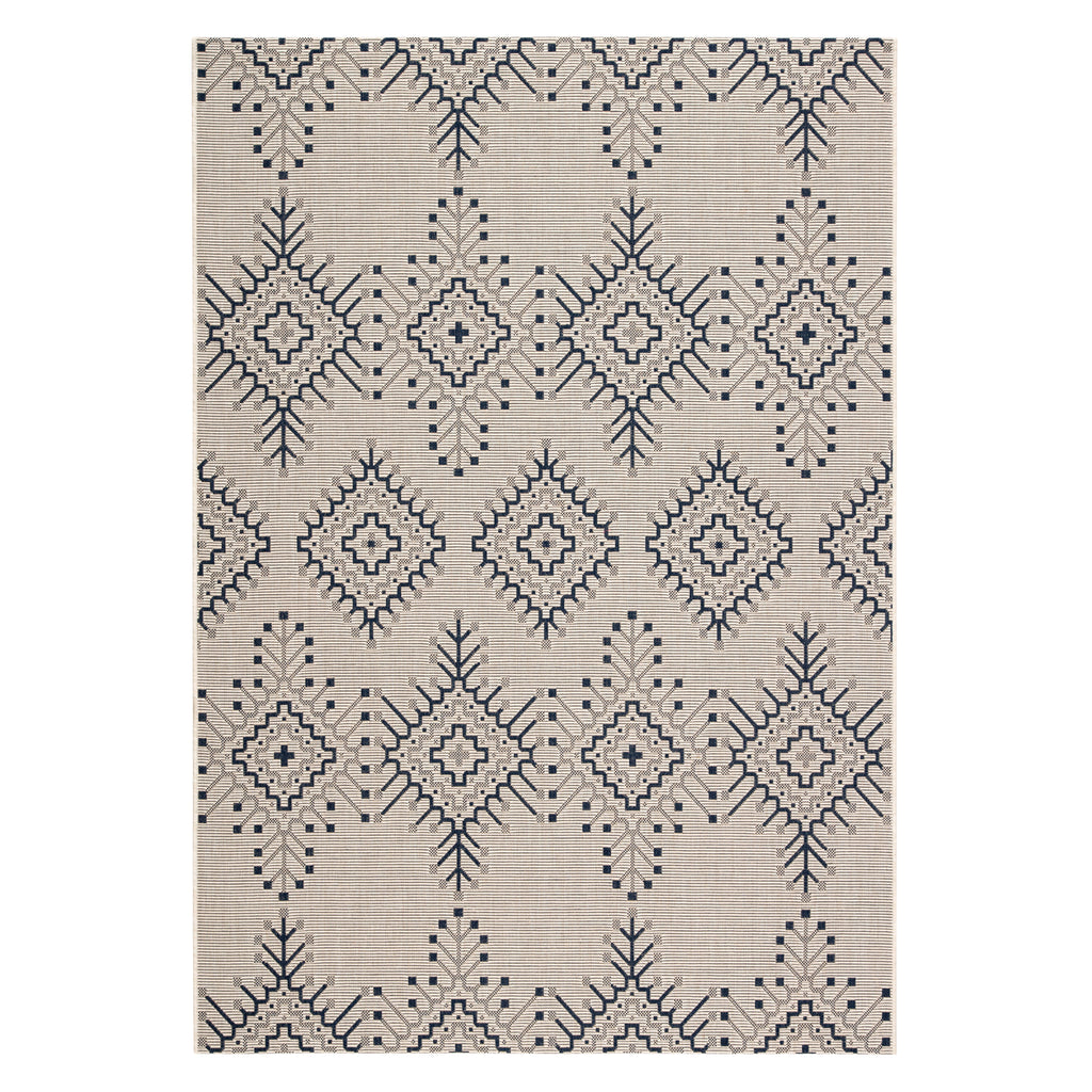 Jaipur Catamaran Compass Indoor/Outdoor Rug