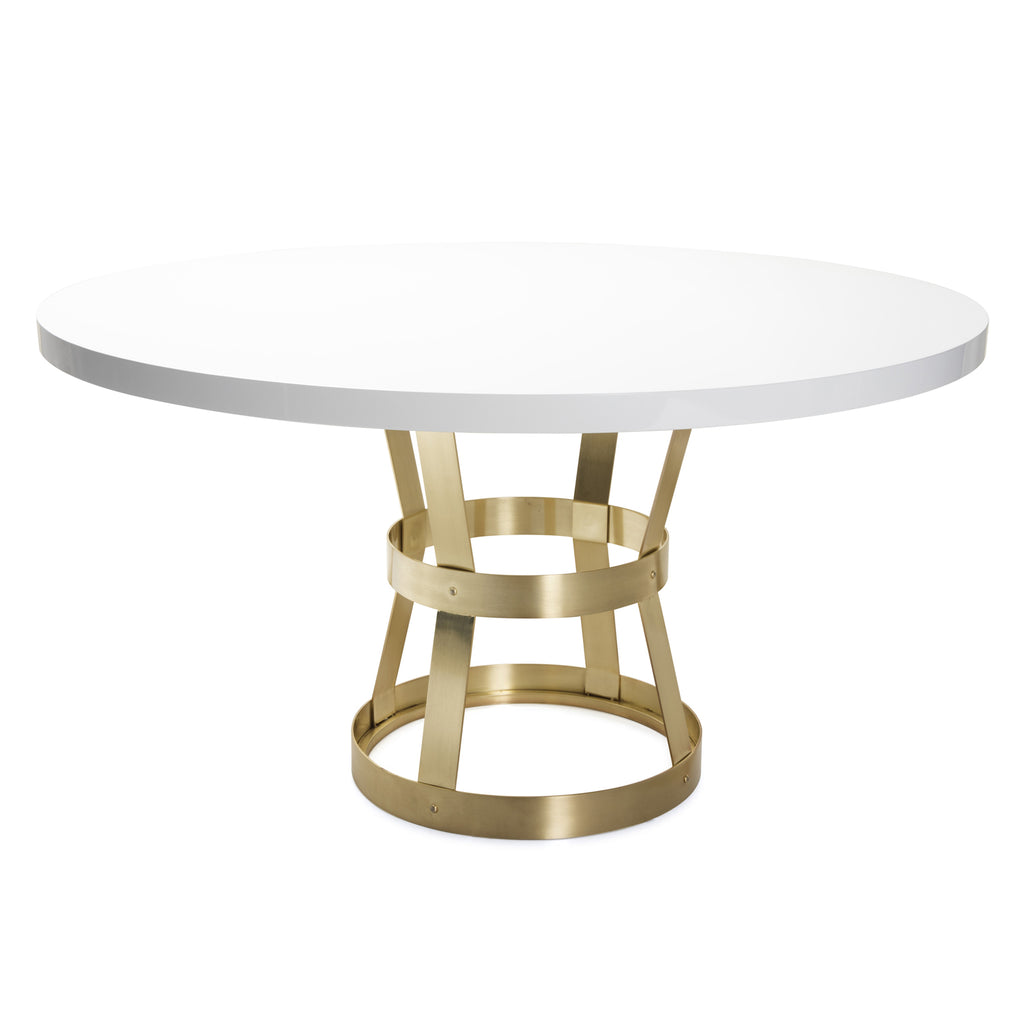 Worlds Away Cannon Dining Table